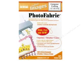 scrapbooking & paper crafts: Blumenthal Crafter's Images PhotoFabric 8 1/2 x 11 in. Cotton Twill 5 pc.