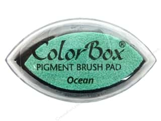 stamps: Colorbox Cat's Eye Pigment Inkpad Ocean