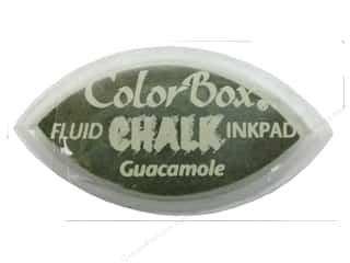 stamps: ColorBox Fluid Chalk Ink Pad Cat's Eye Guacamole