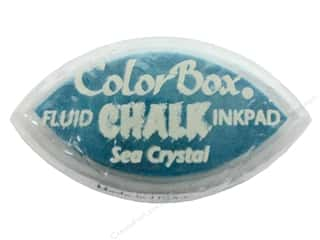 ink pads: ColorBox Fluid Chalk Ink Pad Cat's Eye Sea Crystal