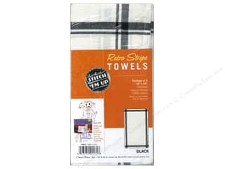 striping yarn: Aunt Martha's Towels Retro Stripe 3 pc. Black