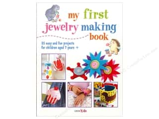 beading & jewelry making supplies: My First Jewelry Making Book by CICO Kidz