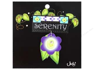 novelties: Jody Houghton Pins Inspirational Flower Serenity