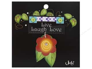 Gifts & Giftwrap: Jody Houghton Pins Inspirational Flower Live, Laugh, Love