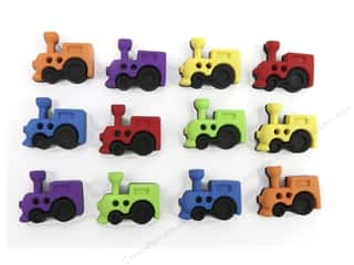 craft & hobbies: Jesse James Dress It Up Embellishments Sew Cute Trains
