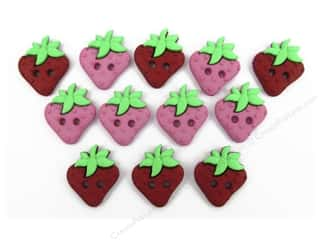 Jesse James Dress It Up Embellishments Sew Cute Strawberries