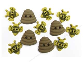 Buttons & Bees: Jesse James Dress It Up Embellishments Sew Cute Bumble Bees