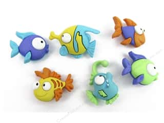 craft & hobbies: Jesse James Dress It Up Embellishments Something Fishy