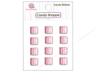 Queen : Queen&Co Sticker Candy Stripers Square Cotton Candy