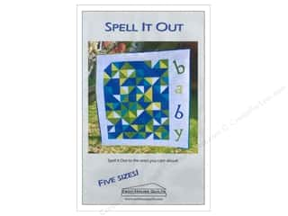 Esch House Quilts Spell It Out Pattern