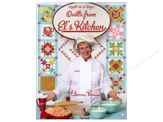 Cookbooks: Quilt In A Day Quilts From El's Kitchen Book by Eleanor Burns