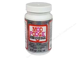 glues, adhesives & tapes: Plaid Mod Podge 8 oz. Extreme Glitter