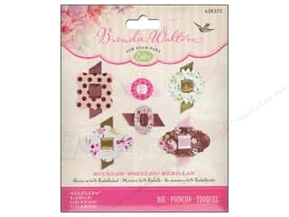 die cutting machines: Sizzix  Sizzlits Dies Buckles by Brenda Walton