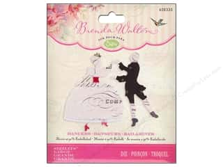 die cutting machines: Sizzix Sizzlits Dies Dancers by Brenda Walton