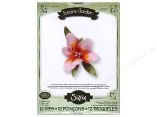 Sizzix Thinlits Die Set 12PK Flower Lily by Susan Tierney-Cockburn