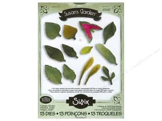 Sizzix: Sizzix Thinlits Die Set 13PK Leaves Garden by Susan Tierney-Cockburn