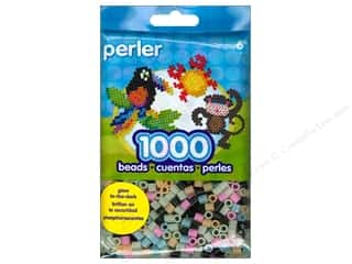 beading & jewelry making supplies: Perler Beads 1000 pc. Glow In The Dark Mix