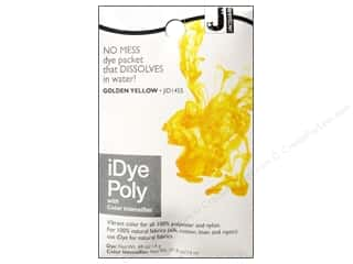 Jacquard iDye Poly Fabrics 14gm Golden Yellow