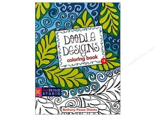 books & patterns: FunStitch Studio Doodle Designs Coloring Book: Teaches You: Color Wheel, Design Practices - Quilting Patterns, Creative Play by Bethany Pease