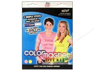 craft & hobbies: Jacquard Color Magnet Dye Kit Pink/Yellow