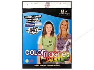 projects & kits: Jacquard Color Magnet Dye Kit Green/Purple