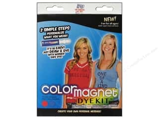 craft & hobbies: Jacquard Color Magnet Dye Kit Red/Turquoise