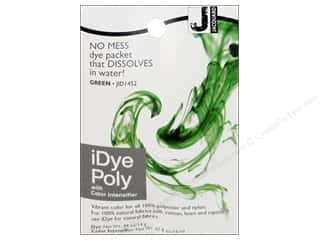 craft & hobbies: Jacquard iDye Poly Green