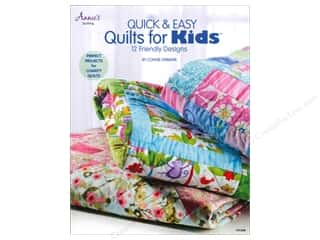 books & patterns: Annie's Quick & Easy Quilts For Kids Book by Connie Ewbank