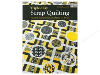Weekly Specials Pattern: That Patchwork Place Triple Play Scrap Quilting Book by Nancy Allen