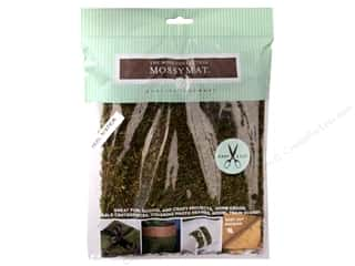 decorative floral: Quality Growers Moss MossyMat Peel & Stick Sheet 16 x 18 in.