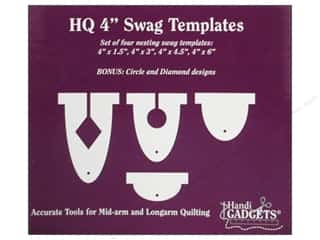 Holiday Gift Idea Sale Sock Purses: Handi Quilter Swag Templates 4 in. 4 pc.