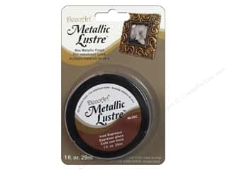 craft & hobbies: DecoArt Metallic Lustre 1 oz. Iced Espresso
