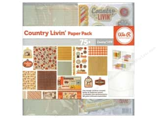 Clearance We R Memory Sew Ribbon Ribbon: We R Memory Paper Pack Country Livin