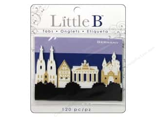 Clearance Little B Adhesive Notes: Little B Adhesive Tabs Germany