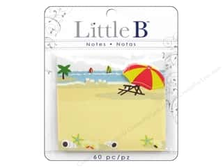 Clearance Little B Adhesive Notes: Little B Adhesive Notes Summer