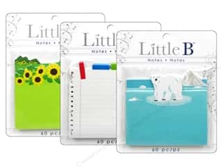 Everything You Love Sale: Little B Adhesive Notes, SALE $1.49-$2.39.