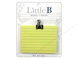 Clearance Little B Adhesive Notes: Little B Adhesive Notes Black Clip