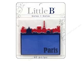 Clearance Little B Adhesive Notes: Little B Adhesive Notes Paris Night