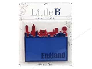 Clearance Little B Adhesive Notes: Little B Adhesive Notes England