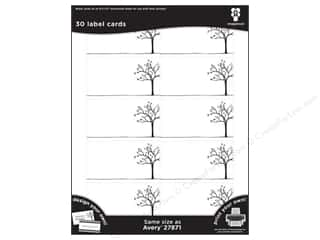 Imaginisce Cards Black Ice Tree Line 30pc