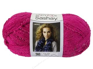 Clearance Red Heart Pomp A Doodle Yarn: Red Heart Boutique Sashay Yarn 3.5 oz. Pink