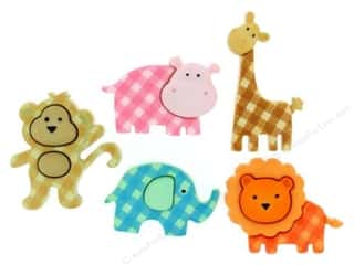 craft & hobbies: Jesse James Dress It Up Embellishments Baby Safari