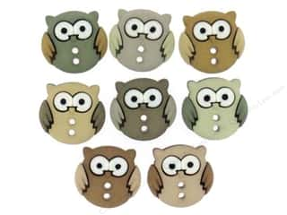 Jesse James Embellishments - Sew Cute Owls