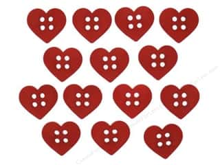 sewing & quilting: Jesse James Dress It Up Embellishments Sew Cute Red Hearts