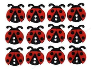 craft & hobbies: Jesse James Dress It Up Embellishments Sew Cute Ladybugs