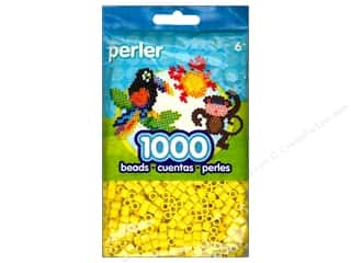 beading & jewelry making supplies: Perler Beads 1000 pc. Yellow
