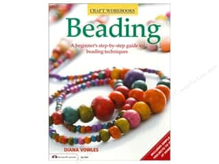 beading & jewelry making supplies: Design Originals Beading Book by Diana Vowles