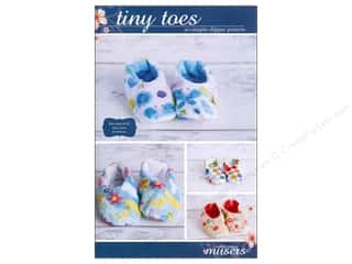 Mckay Manor Musers Tiny Toes So Simple Slipper Pattern