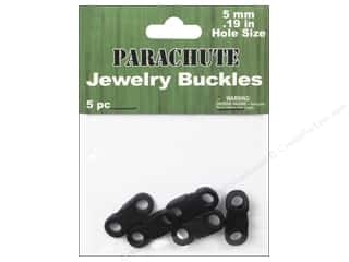 beading & jewelry making supplies: Pepperell Parachute Jewerly Buckles 5 pc