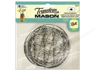 ball mason transform paint: Loew Cornell Transform Mason Lid Inserts 4 pc. Frog